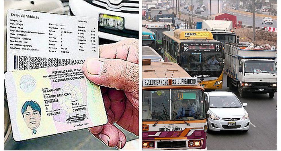 MTC: Prorrogan vigencia de licencias de conducir vencidas hasta por 30 días