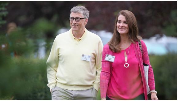 Bill Gates y su esposa Melinda anuncian el fin de su matrimonio. (Foto: AFP)