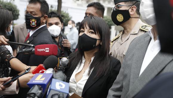 Mirtha Vásquez también expresó su voluntad de que la Junta de Portavoces sea transparente y pública, pero señaló que no hay un acuerdo hasta ahora para eso.