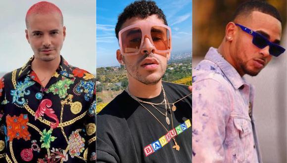 J Balvin, Bad Bunny y Ozuna lideran las nominaciones a los Latin Grammy. (Foto: @jbalvin/@badbunnypr/@ozuna)