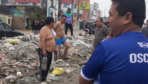 Según información de los vecinos, el facineroso había pretendido asaltar a un tráiler en el centro poblado El Milagro, pero nada le resultó como lo planeó.