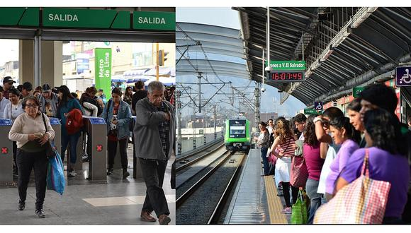 Encuesta: Rapidez del Metro de Lima es el indicador más valorado por los usuarios