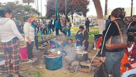 Ediles no descartan que la próxima medida de lucha sea una huelga