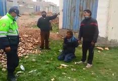 Retienen a extranjeros acusados de ser ladrones en San Miguel