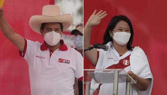 La ONPE publica cada media hora aproximadamente las actualizaciones en el conteo de votos de todos los peruanos que sufragaron el último 6 de junio.