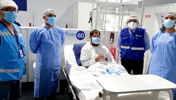 Huánuco: sacerdote contagiado con COVID-19 se recupera favorablemente en Villa EsSalud (Foto: EsSalud)