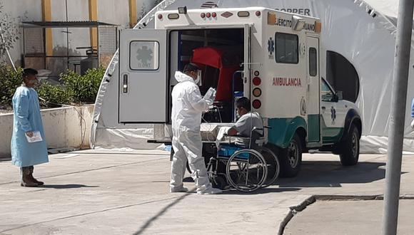 Enero se cierra con una de las más altas tasas de contagios y muertes en la región de Tacna debido a la segunda ola. (Foto: Correo)