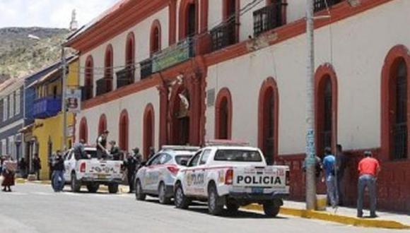 El acosador fue traslado hasta la comisaría de Puno. (Foto: Referencial)