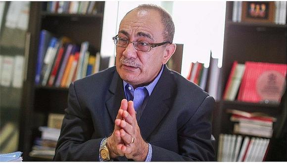 Exministro de Educación Idel Vexler.