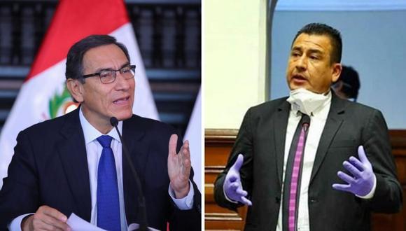 Revelan el nombre del congresista que insultó al presidente Martín Vizcarra