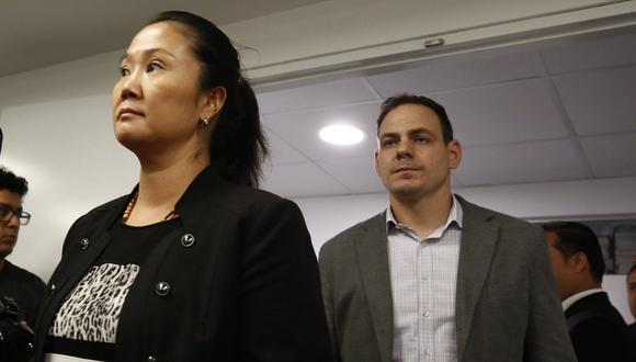 Mark Vito Villanella es esposo de Keiko Fujimori, quien cumple 15 meses de prisión preventiva. (Foto: GEC)