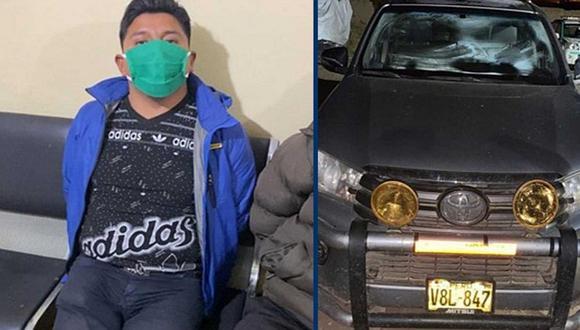 Alcalde de Santa Lucía es detenido por tomar en vía pública y en plena cuarentena
