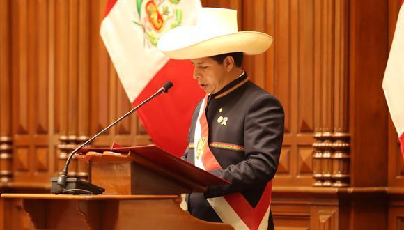 Pedro Castillo anuncia que no gobernará desde Palacio de Gobierno. (Foto: Twitter  @PedroCastilloTe