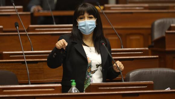 """Mirtha Vásquez señala que el Legislativo mantendrá """"el control político"""" y """"la separación de poderes"""" con el Ejecutivo.   (Foto: Andina)"""