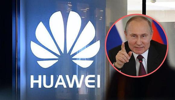 Huawei firma acuerdo con Rusia para desarrollar red 5G