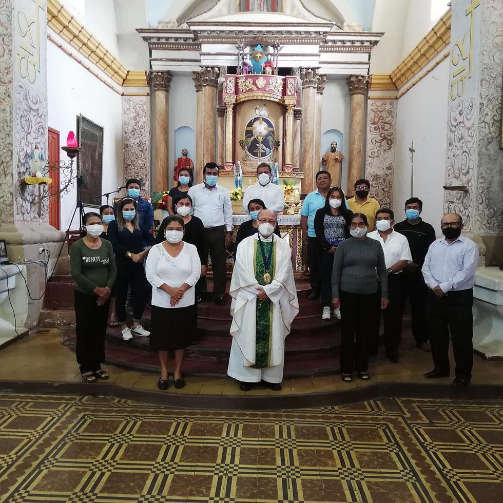 Sacerdote chiclayano celebra 50 años de trabajo al servicio del Pueblo de Dios