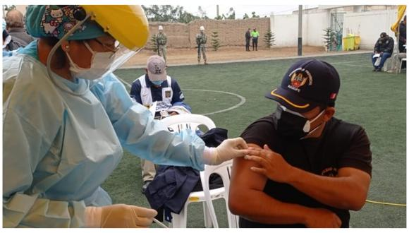 Municipalidad Provincial de Ascope se convirtió en la primera en inmunizar a personal en el Valle Chicama.
