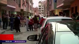 Niño fallece tras ser atropellado por furgoneta en Cercado de Lima