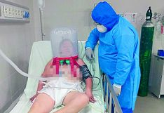 "Hospital Demarini de Chanchamayo  usa ""cascos"" para pacientes COVID-19 ante falta de ventiladores mecánicos"