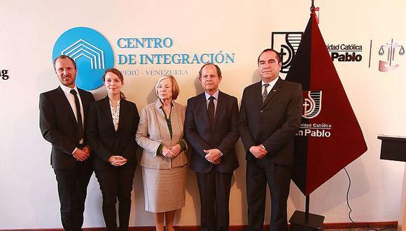 Crean centro de integración Perú - Venezuela