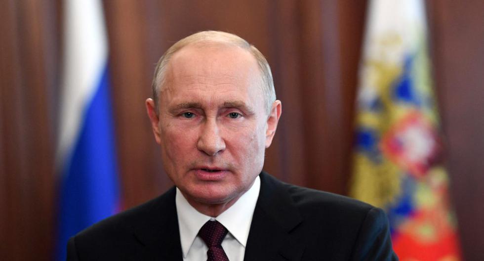 Imagen del presidente ruso Vladimir Putin. (Foto: Alexey NIKOLSKY / Sputnik / AFP).
