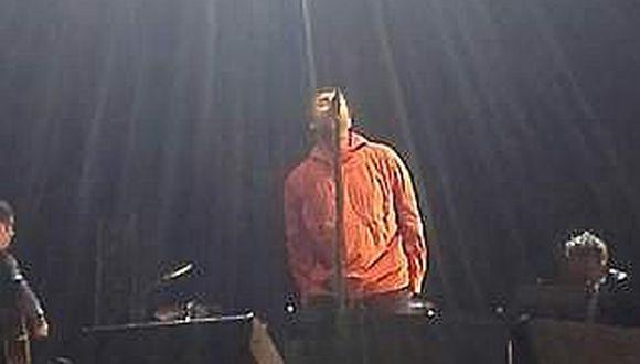 Liam Gallagher cierra su gira sudamericana en Lima (VIDEO)