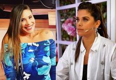 """Giovanna Valcárcel termina en el piso por culpa de Thais Casalino en """"Mujeres al mando"""""""