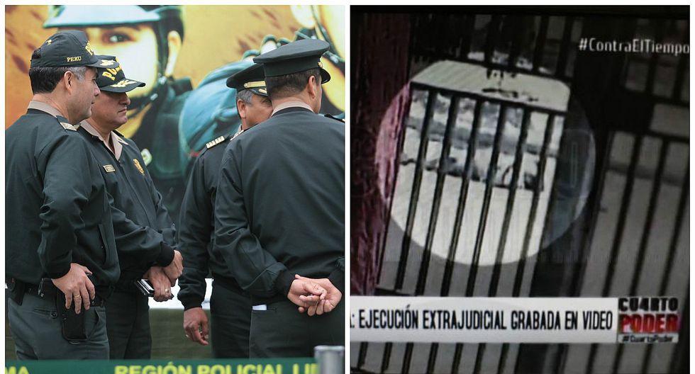 Policía Nacional: Los 21 efectivos investigados por ejecución extrajudicial en Piura (VIDEO)