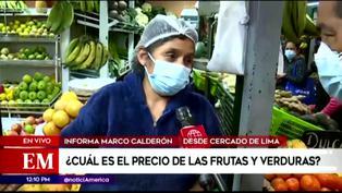 Precio de frutas y verduras incrementa por alza de gasolina y situación climatológica (VIDEO)