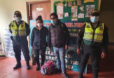 Incautan S/ 150 mil en la vía Juliaca – La Rinconada en Puno