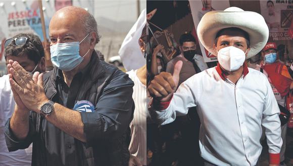 Pedro Castillo lidera con fuerza el conteo de votos en la región, mientras que Hernando de Soto lo sigue detrás con un porcentaje menor. (Foto: Correo)
