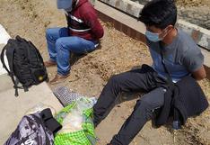 Amigos trasladaban droga a la frontera con Chile