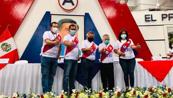 Líder de APP lanzó desde Trujillo la 'Cruzada por el Perú', que busca apoyar la candidatura de Keiko Fujimori.