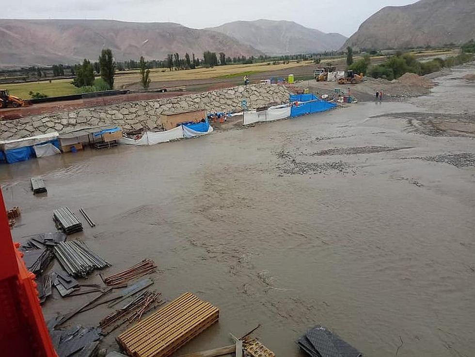 Puente del anexo El Toro en Cocachacra también fue afectado por crecida del río Tambo(FOTOS)