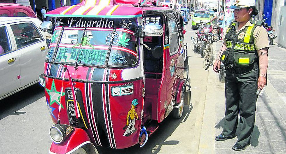 Comuna regulará el servicio mototaxis