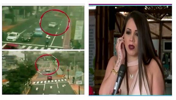 Melissa Klug: la respuesta que dio tras preguntas sobre supuesta fuga de Diego Chávarri (VIDEO)