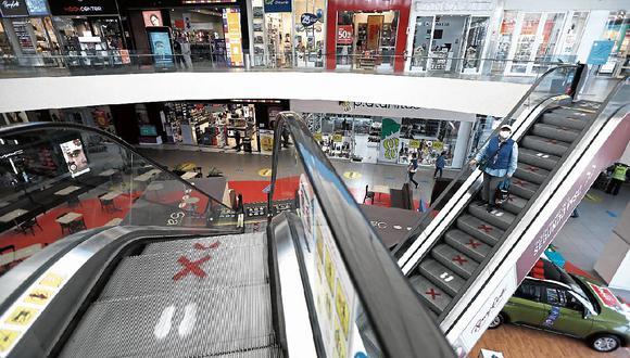 Centros comerciales y restaurantes seguirán operando con aforo reducido. (Foto: FRANCISCO NEYRA / GEC)