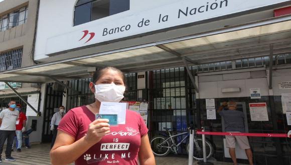 Esta semana inicia el pago del segundo bono de 600 soles por la cuarentena (Foto: Andina)