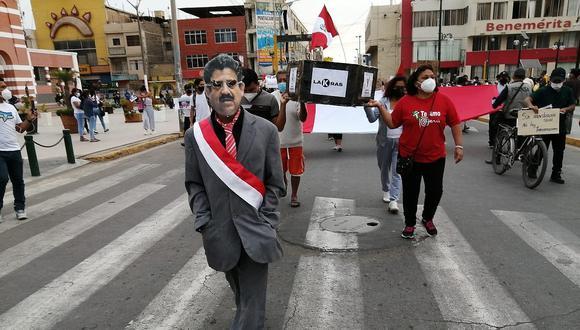 Autoridades de Ica rechazaron Gobierno de Manuel Merino