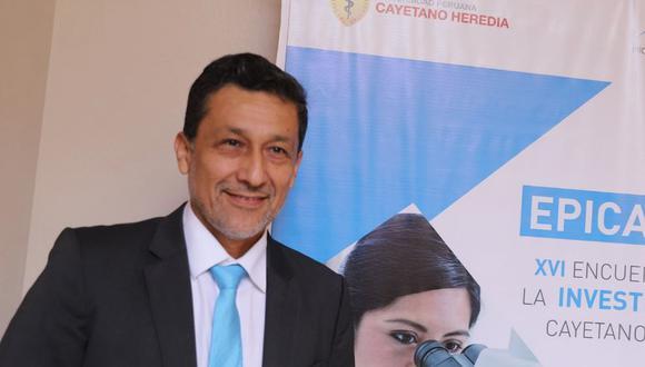 Germán Málaga, profesor e investigador de la Universidad Peruana Cayetano Heredia. (Foto: UPCH)