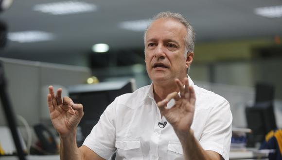 Hernando Guerra García dijo que el plazo para presentar nulidades debió vencer a la medianoche y no a las 8 p.m. (Foto: Paco Sanseviero / El Comercio)