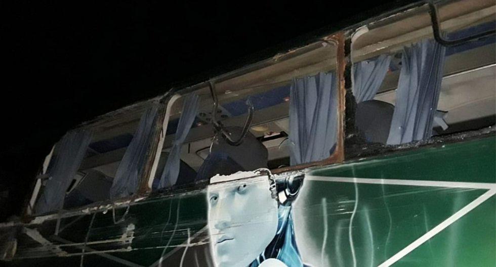 Bus con hinchas de Sport Boys que retornaba a Lima sufre accidente