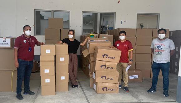 San Martín: hospital de Tarapoto recibió equipos médicos y pruebas rápidas por el COVID-19 (Foto: Gore San Martín).