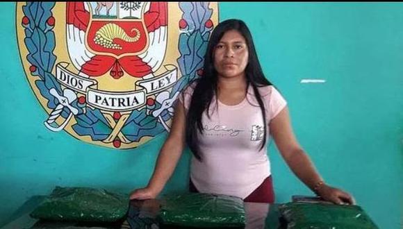 Fotografía del día de la detención en la que se encontraron 11.970 kilos de alcaloide de cocaína, según los reportes de la policía y la fiscalía. (Foto: PNP)