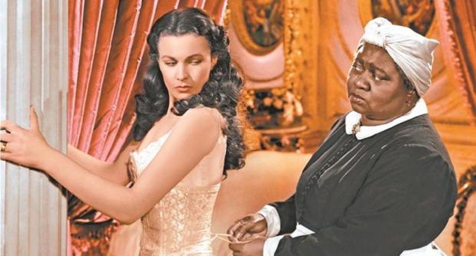 """""""Lo que el viento se llevó"""" ya había sido criticada en su época por activistas como el guionista afroamericano Carlton Moss. (Foto: MGM)"""