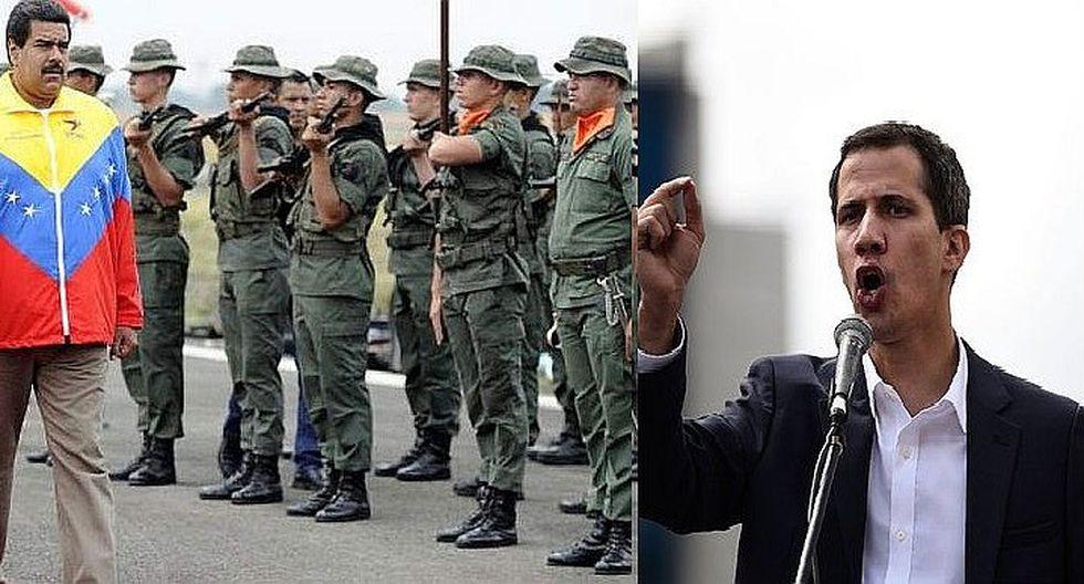 EE.UU. dispuesto a eximir de sanciones a militares de Venezuela que apoyen a Juan Guaidó
