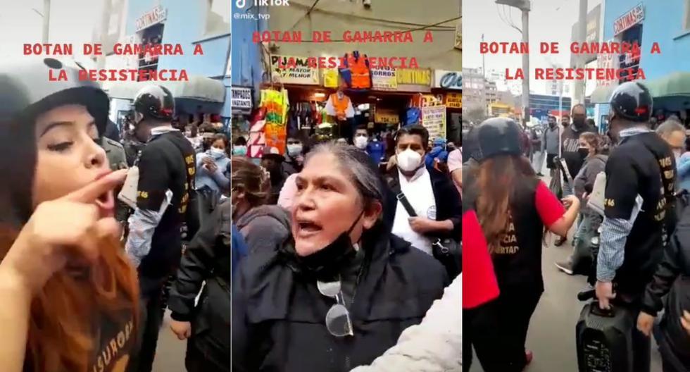 """""""¡Afuera!"""": Empresarios de Gamarra expulsan a La Resistencia tras discusión (VIDEO)"""