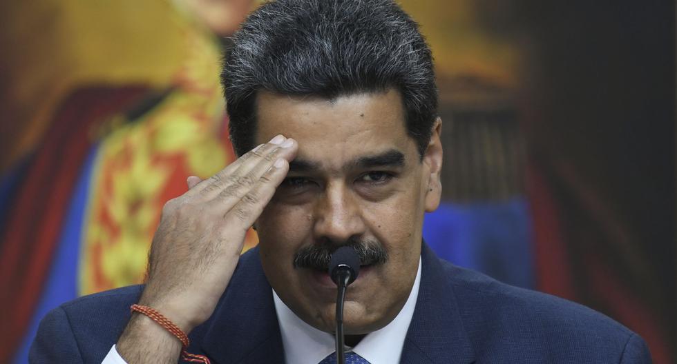 """Maduro dice que Venezuela sufre """"una invasión"""" de coronavirus desde Colombia. (Foto: Yuri CORTEZ / AFP)."""