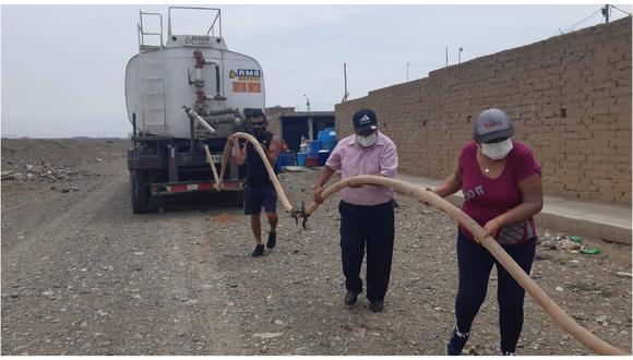 Las coordinaciones para atender a familias se dio con el Ministerio de Vivienda Construcción y Saneamiento.