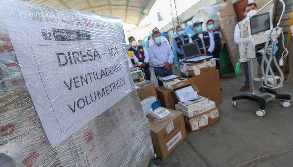 Presidente Vizcarra asegura que 400 nuevos respiradores mecánicos llegarán desde China el 30 de junio